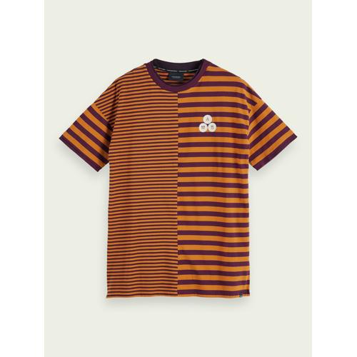 Scotch & Soda T-Shirt in doppellagiger Optik Orange Herren XXLScotch & Soda T-Shirt in doppellagiger Optik