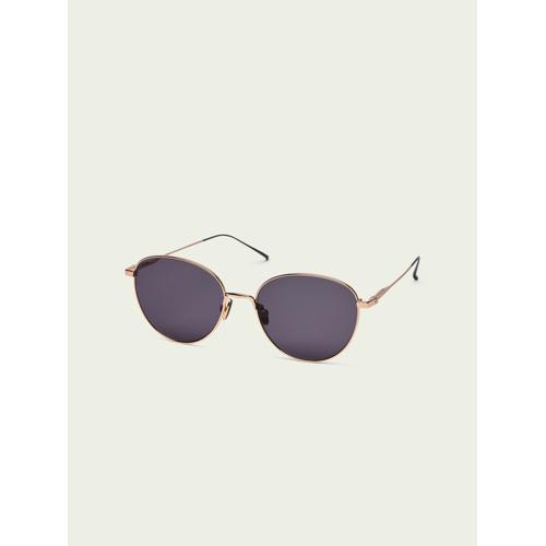 Scotch & Soda Yosemite– Runde goldene Sonnenbrille Schwarz Damen OSScotch & Soda Yosemite– Runde goldene Sonnenbrille