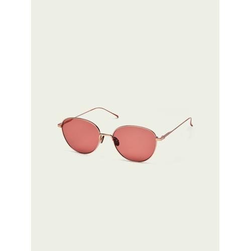 Scotch & Soda Yosemite– Runde goldene Sonnenbrille Gold Damen OSScotch & Soda Yosemite– Runde goldene Sonnenbrille