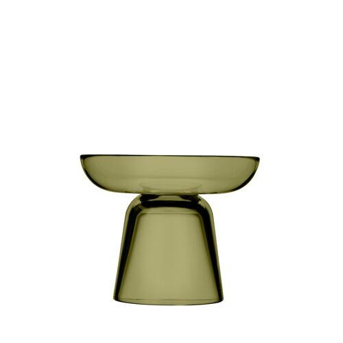 iittala Säulen-Kerzenständer – 10,7 cm - moosgrün Nappula Iittala Grün