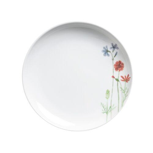 Kahla Frühstücksteller 22 cm Wildblume Wildblume Blau / Rot Kahla Weiß