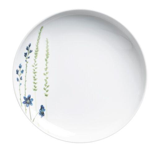 Kahla Essteller 27 cm Wildblume Wildblume Blau / Rot Kahla Weiß