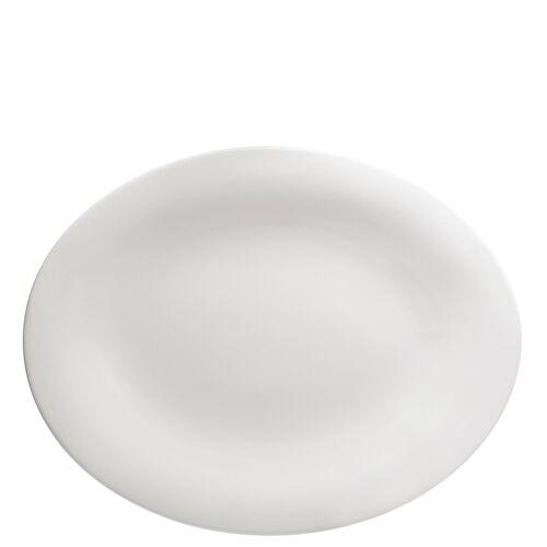 Hutschenreuther Platte 36 cm Nora Weiß Hutschenreuther Weiß