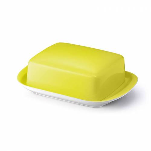 Dibbern Butterdose Solid Color Zitrone Dibbern Gelb