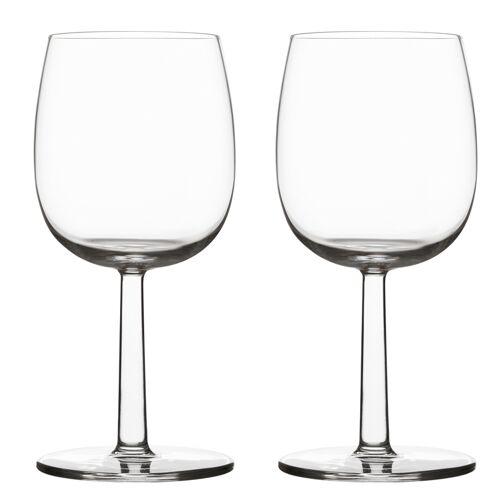 iittala Rotwein- Weissweinglas – 280 ml - 2 Stück Raami Gläser Iittala