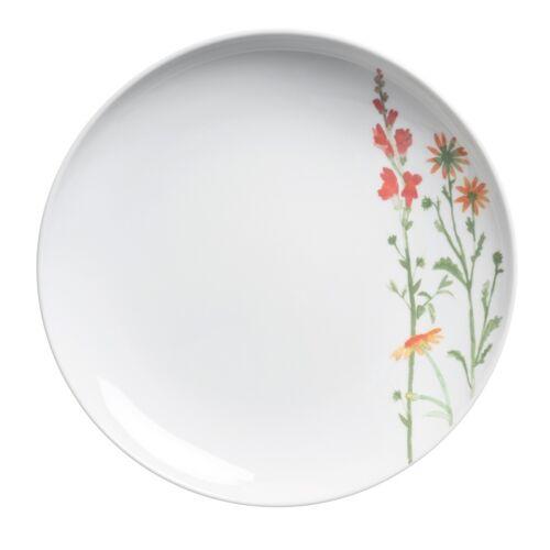 Kahla Essteller 27 cm Wildblume Wildblume Rot / Gelb Kahla Weiß