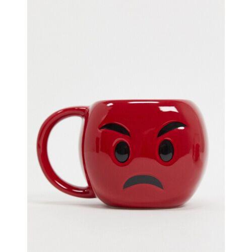 Menkind – Tasse mit wütendem Gesicht-Rot No Size
