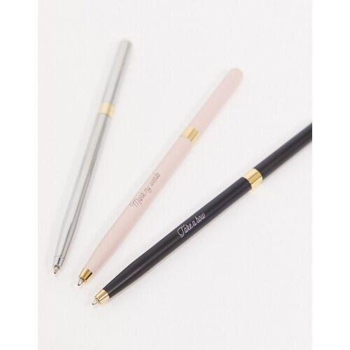 Ted Baker – Kugelschreiber im 3er-Pack-Mehrfarbig No Size