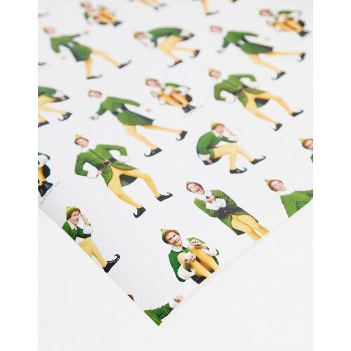 Typo x Elf – Festliches Geschenkpapier-Mehrfarbig No Size