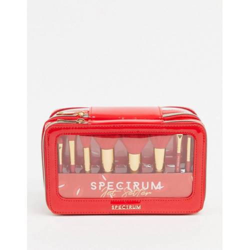 Spectrum – Jet Setter – Make-up-Pinselset in Rot-Mehrfarbig No Size