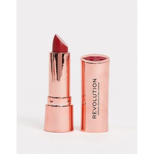 Revolution – Satin Kiss – Lippenstift, Ruby-Rosa No Size