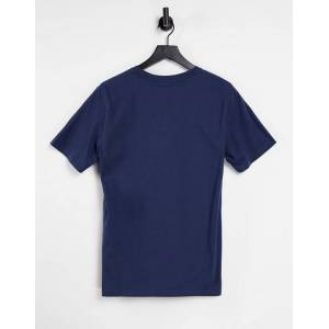 Levis Levi's – T-Shirt mit fledermausförmigem Logo in Marineblau S