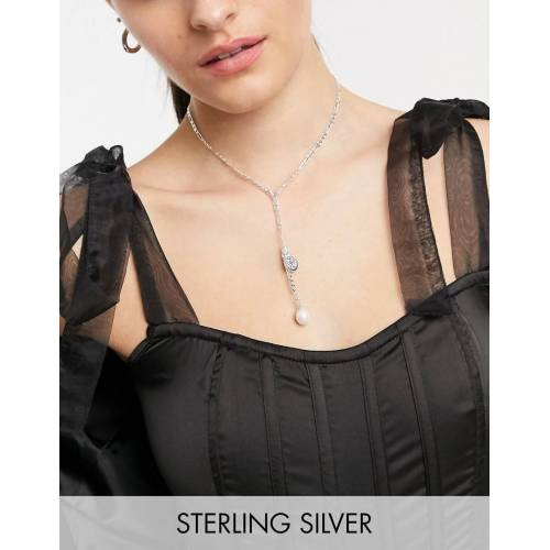 Pilgrim – Versilberte Halskette mit drei Anhängern No Size