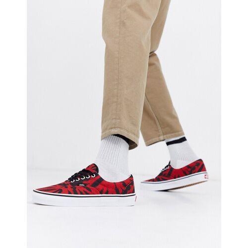 Vans – Era – Tangorote Sneaker mit Batikdesign