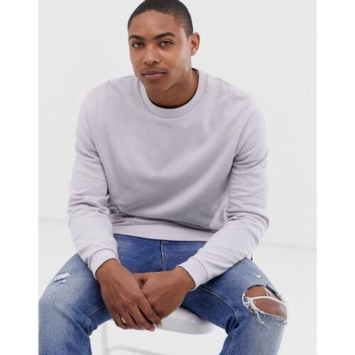 ASOS DESIGN – Sweatshirt in Flieder