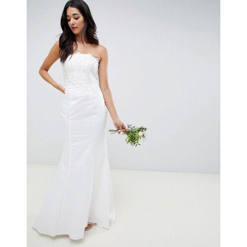 Little Mistress – Trägerloses Brautkleid mit Paillettenverzierung