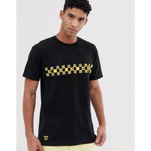 Vans X Harry Potter – Hufflepuff – Schwarzes T-Shirt