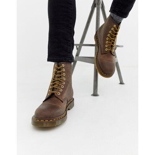 Dr Martens Dr.Martens - 1460 - Braune Stiefel mit 8 Ösen - Braun