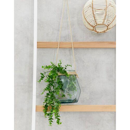 ASOS SUPPLY – Blumenampel aus Glas