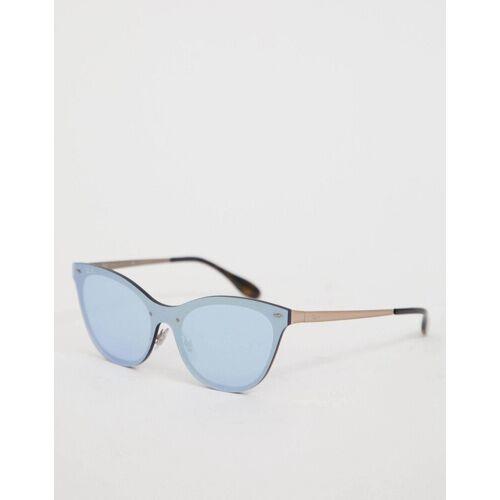 Ray-Ban Ray Ban – Blaue Katzenaugen-Sonnenbrille