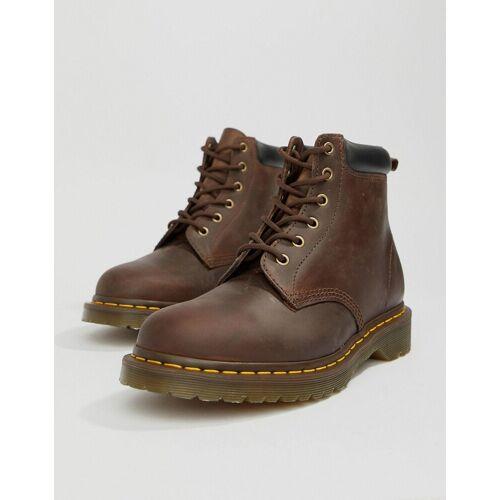 Dr Martens Dr.Martens - 939 - Braune Stiefel mit 6 Ösen - Braun
