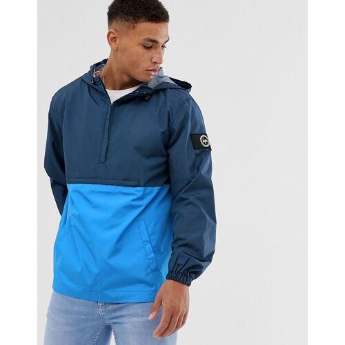 Hype – Insign – Jacke mit Stoffbahnen-Navy L