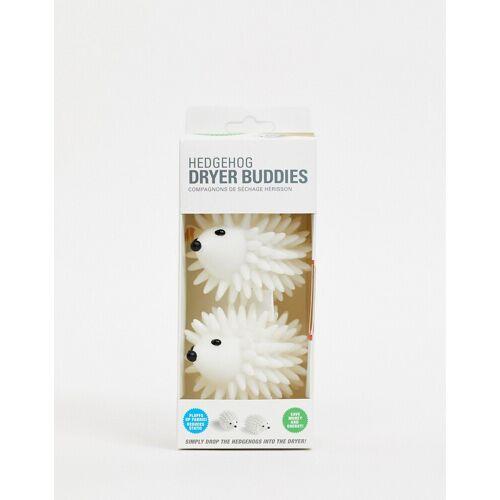 Kikkerland – Dryer Buddies mit Igel-Design-Weiß No Size
