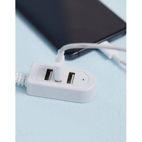 Kikkerland – Praktischer USB Hub-Mehrfarbig No Size