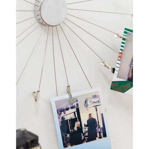Kikkerland –Sunburst – Fotorahmen-Silber No Size
