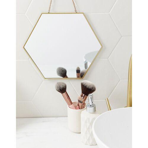 Koopmans – Sechseckiger Wandspiegel-Gold No Size