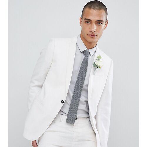 Noak – Enge Hochzeitsanzug-Jacke-Weiß 48