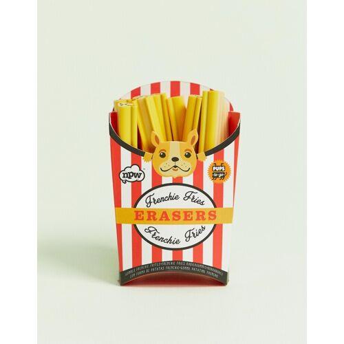 NPW – Frenchie Fries – Radiergummis-Gelb
