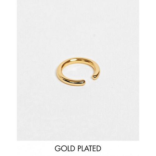 Orelia – Vergoldeter, einzelner Goldschmuck No Size