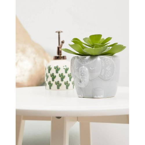Sass & Belle – Pflanzentopf mit Elefant-Mehrfarbig No Size