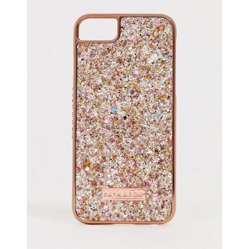 Skinnydip – Sunset Beach – Glitzernde iPhone-Hülle für iPhone 6/7/8/s/6 Plus/7 Plus / X/XS / MAX /XR-Gold iPhone 6/6s/7/8