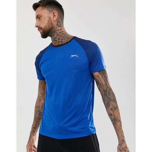 Slazenger – Eli Sports – Blaues T-Shirt XL