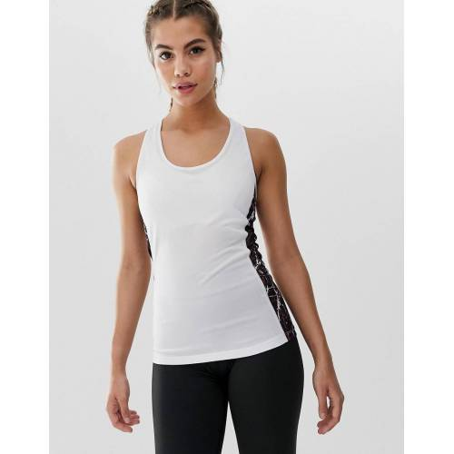 Slazenger – Zina – Trägershirt in Weiß 38