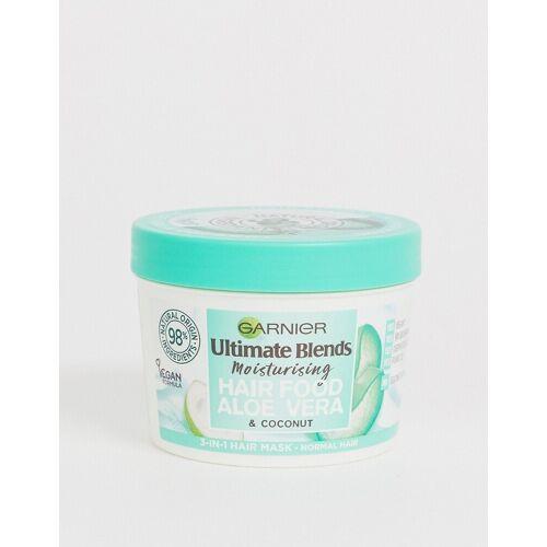 Garnier – Ultimate Blends Vegan Hair Food Aloe Vera – 3-in-1-Haarmaske für normales Haar, 390 ml-Keine Farbe No Size