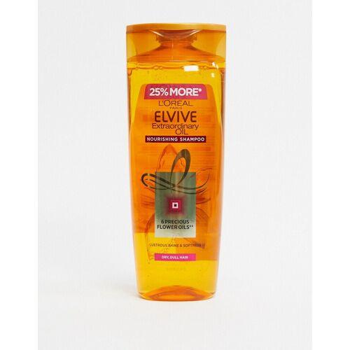 L'Oreal Elvive L'Oreal – Elvive Extraordinary– Öl-Shampoo für trockenes Haar500 ml-Keine Farbe No Size