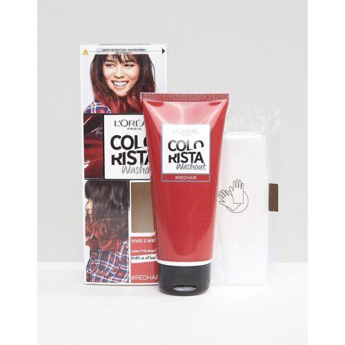 L Oréal Pa L'Oreal Paris – Colorista – Haarfarbe zum Auswaschen - Rot No Size