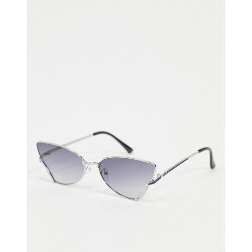 AJ Morgan – Cat-Eye-Sonnenbrille in Silber No Size