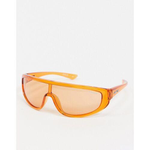 Arnette x Post Malone – Visor-Sonnenbrille in Orange No Size