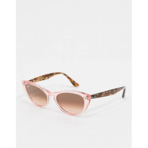 Ray-Ban Rayban – Cat-Eye-Sonnenbrille in Rosa-Mehrfarbig No Size