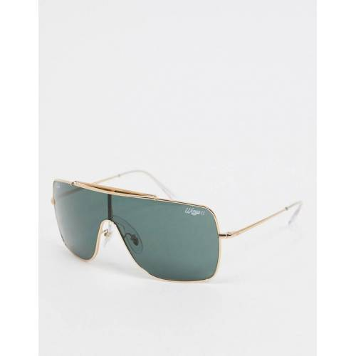 Ray-Ban Rayban – Oversize-Pilotenbrille in Gold No Size