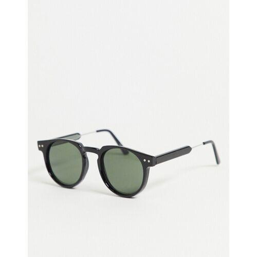 Spitfire – Teddy Boy – Runde Sonnenbrille in Schwarz No Size