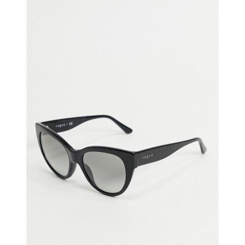 Vogue – Cat-Eye-Sonnenbrille in Schwarz No Size
