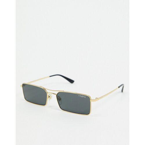 Vogue – Rechteckige Sonnenbrille in Gold, 0VO4106SM No Size