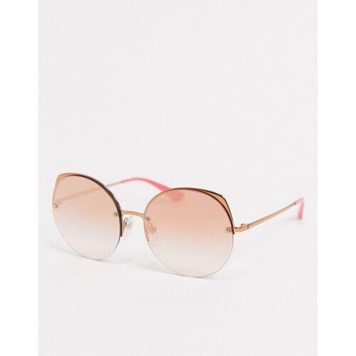 Versace Vogue – Runde Sonnenbrille in Rosa No Size