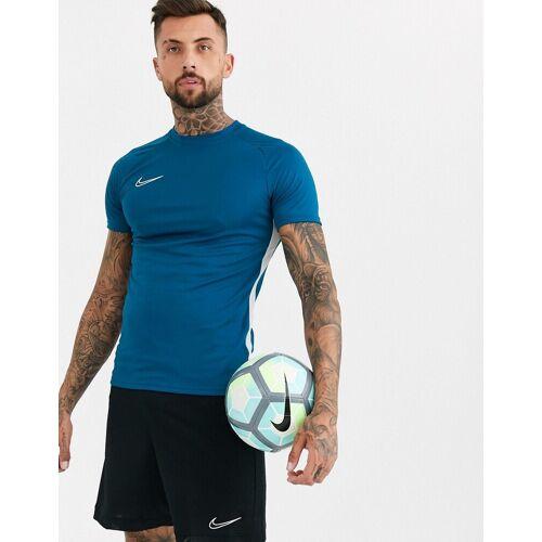 Nike Football Nike – Football Dry Academy – Blaues T-Shirt