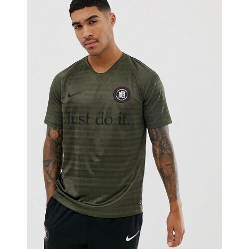 Nike – FC Football – Grünes T-Shirt